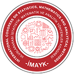4<sup>th</sup> INTERNATIONAL CONGRESS ON STATISTICS MATHEMATICS AND ANALYTICAL METHODS